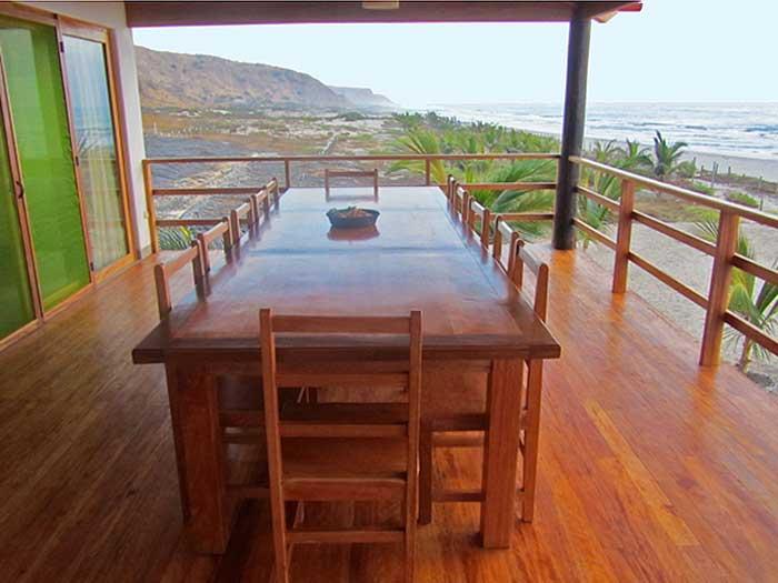 Casa rapallo casa de playa en punta sal for Modelo de casa segundo piso