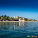 Playa central de Máncora