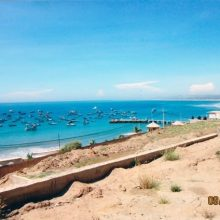 Real Estate, property for sale with an incredible ocean view at Mancora