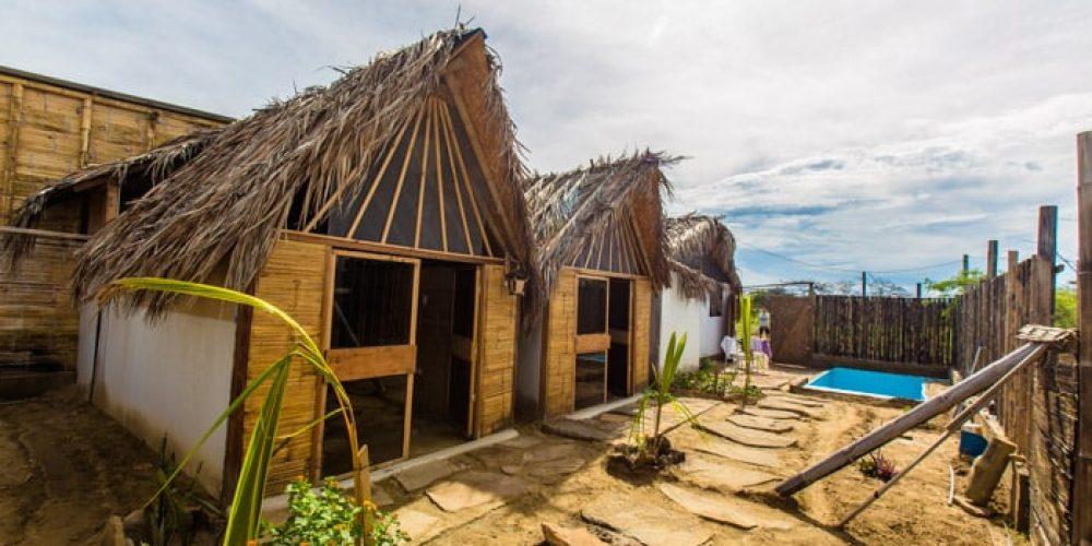 Akazuri, una casa rústica ubicada a las afueras de Máncora