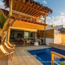 Arrecifes de Punta Sal, Beach House Rental, 1st row