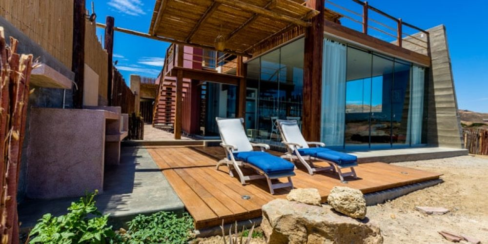 Casa Carretes, espectacular vista en la playa de Los Organos ...