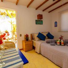 La Escondida Mini Bungalow, perfect for couples at Las Pocitas beach