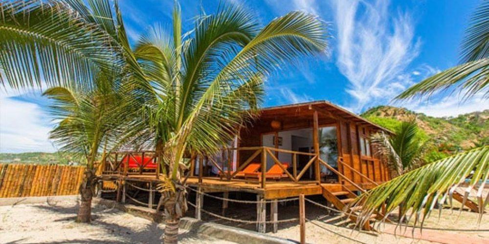 Bungalow Punta Camaron en playa Zorritos