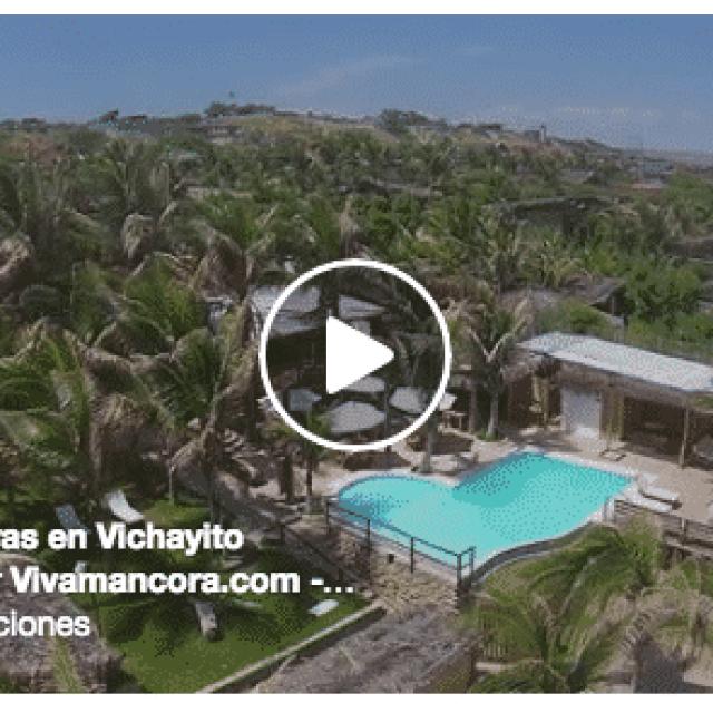 Hotel Playa Palmeras, Playa Vichayito