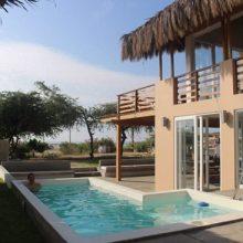 Villa Arena, casa de playa en Vichayito
