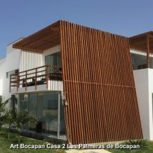 Art Bocapán, casa de playa en Zorritos
