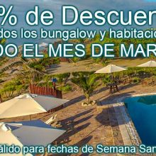 20% OFF on March 2018 at Balihai Bungalows
