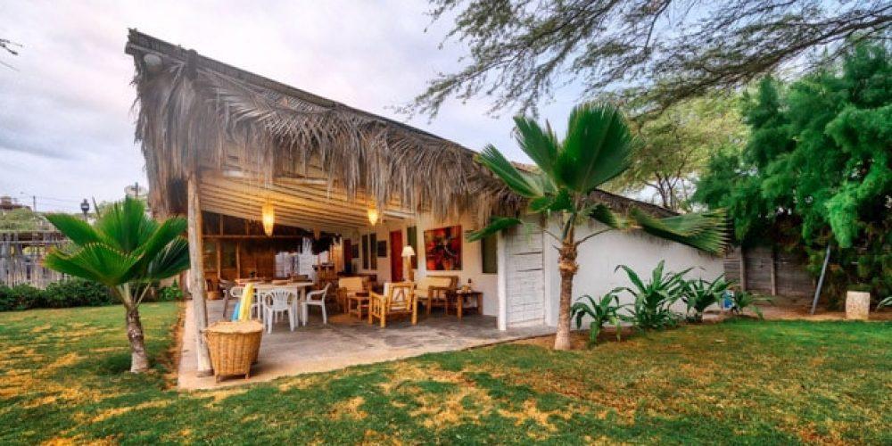 Casa Bungalow Bonne at Vichayito beach