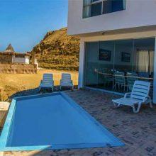 Casa Bahía, confort in front of the Sea Tortules area in El Ñuro