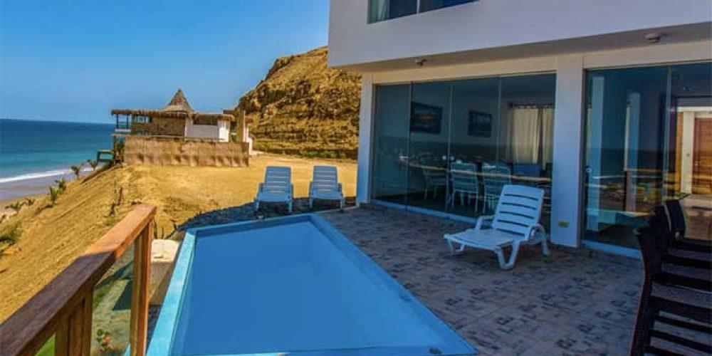 Casa Bahía, confort frente a las tortugas marinas de El Ñuro
