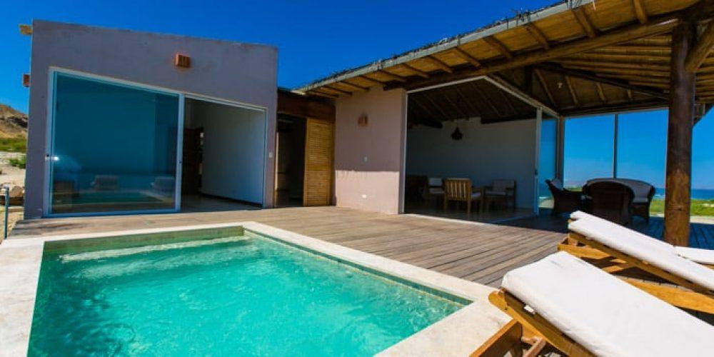 Buscando una buena casa en una playa desierta? Casa Brava