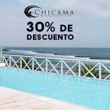 Chicama Boutique Hotel & Spa con 30% de descuento para visitantes de Casas de Playa de VivaMancora