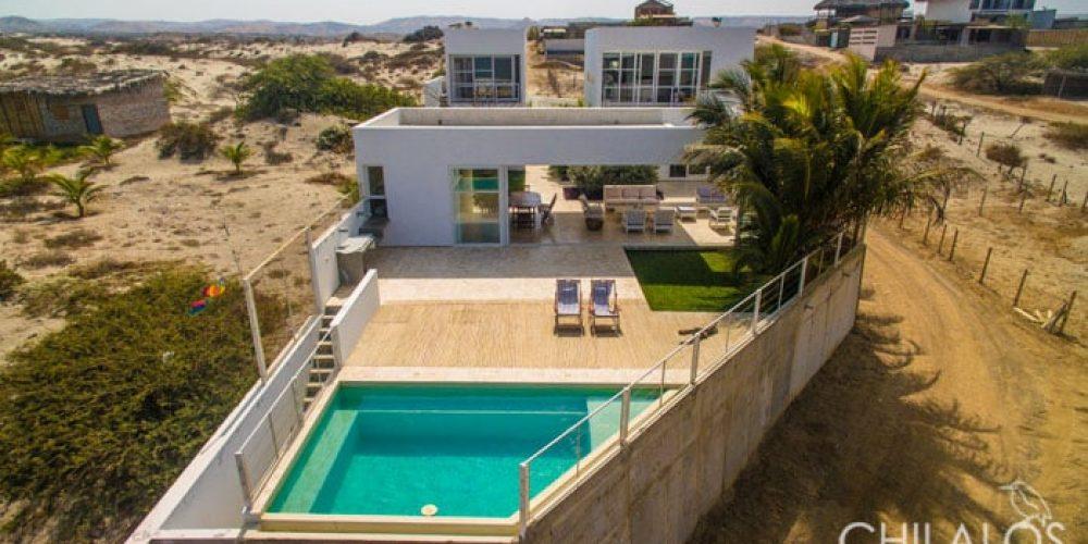 Casa Chilalos at Vichayito, ready for rent!