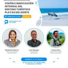 """Conversatorio """"Visión e Innovación integral del destino turístico playas del norte"""""""