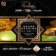 Gran Opening este 3 de Junio en Noelani de Costa Azul, Zorritos