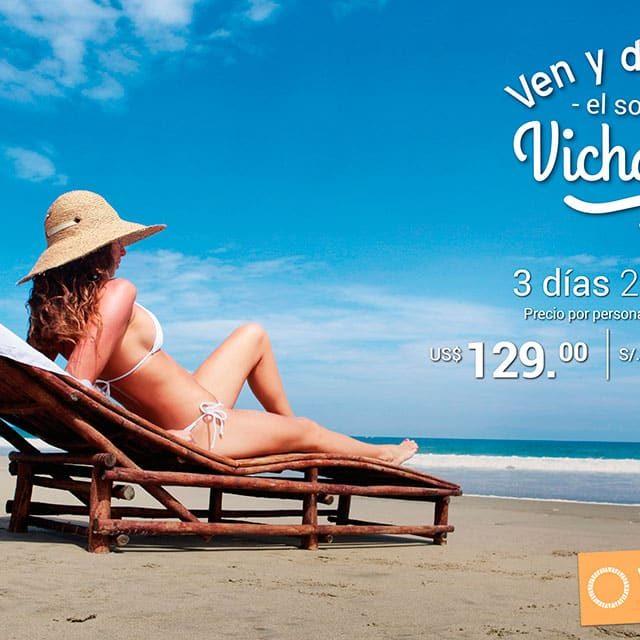 Ven y Disfruta el Sol en Vichayito Bungalows & Carpas