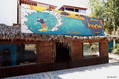 Fachada Mancora Kite Club