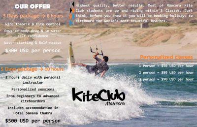 Mancora Kite Club Promo