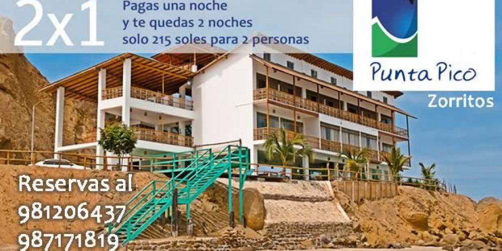 Special Discount at Punta Pico Hotel (Zorritos)