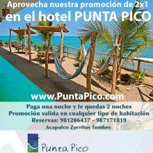 Punta Pico con promoción 2 x 1