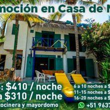 Casa de Mate en playa Pocitas con nueva promoción
