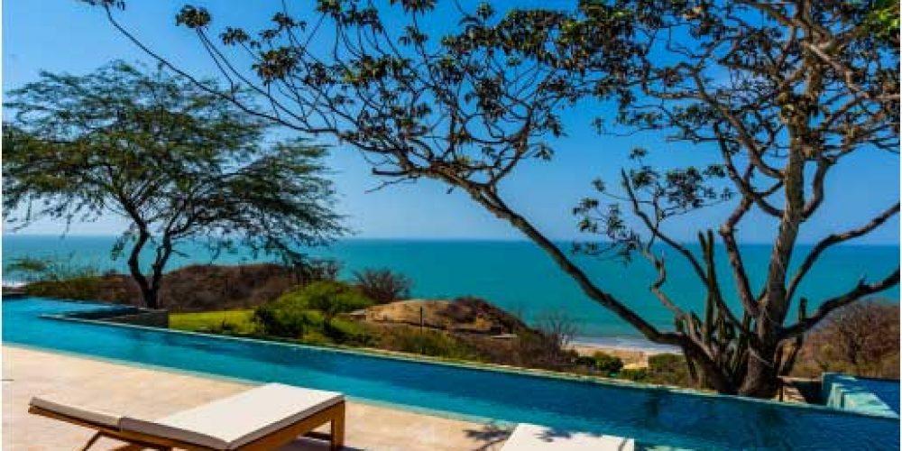 Casa Punta Camarón, vista espectacular al mar de Zorritos, Tumbes