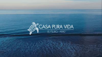 """SE VENDE Casa """"Pura Vida"""" en playa El Ñuro"""