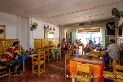 Restaurant Cesar de Mancora