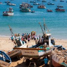 VIDEO, San Pedro and San Pablo, Festivities at Mancora
