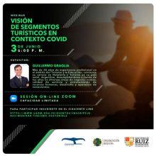 """Seminario en vivo: """"Visión de segmentos turísticos en contexto COVID-19"""""""