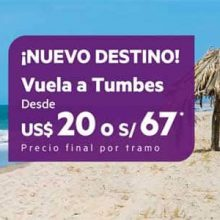 Sky Airline ahora con vuelos Lima – Tumbes