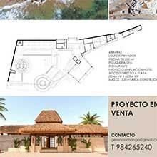 Se vende proyecto de Hotel con Club en Zorritos
