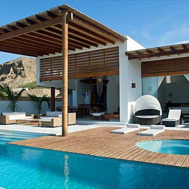 Villa Nirvana, una acogedora casa de playa en playas Pocitas, Máncora