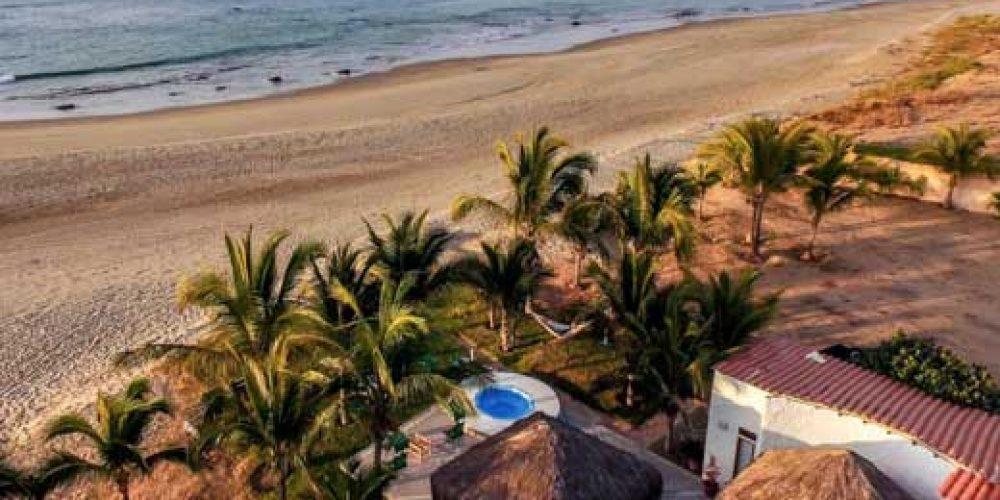 Villa Paraíso, a new beach house rental at Punta Sal beach