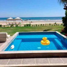 Villa Shangri-La, located at seashore in Punta Sal beach