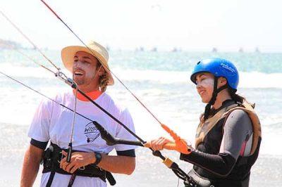 Kitesurf at Mancoca with Wild Kite Peru