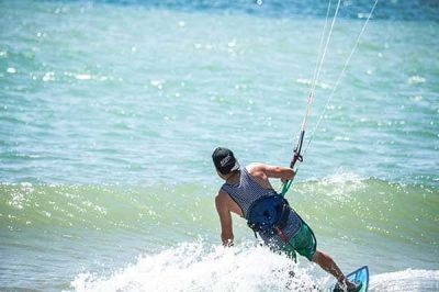 Kitesurf witn Wild Kite Peru
