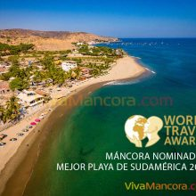 Máncora nominada a los premios World Travel Awards 2020