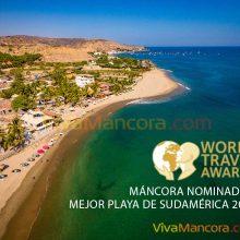 Máncora nominada a los premios World Travel Awards 2020