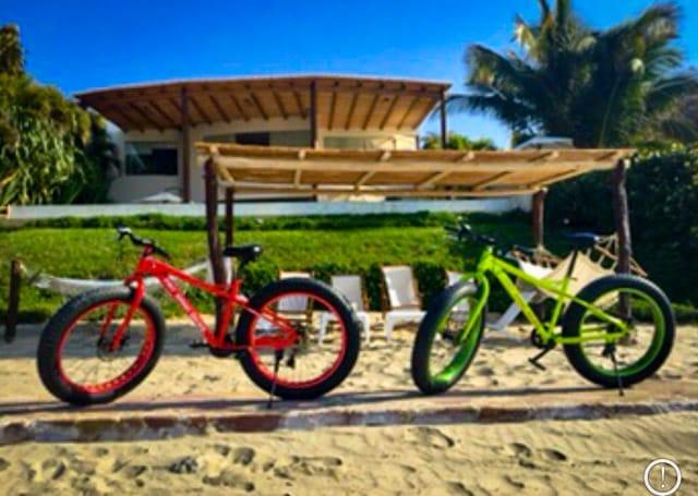 Fat Bikes en Casablanca Beach Front