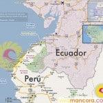 Mapa Playas de Piura y Tumbes