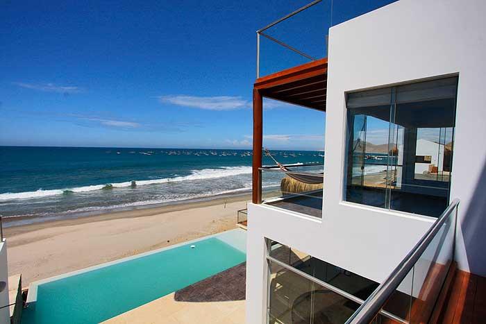 Casa vikinca casa de playa en el uro per - Casa de playa ...